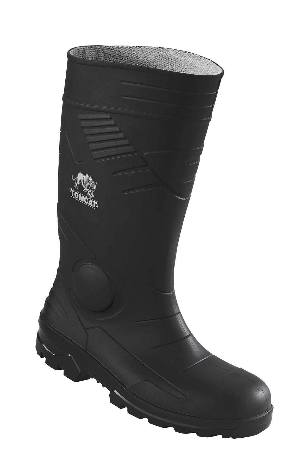 2ba8bb7dc65 Tomcat TC200 Full Safety S5 Steel Toe Cap Wellington Boots