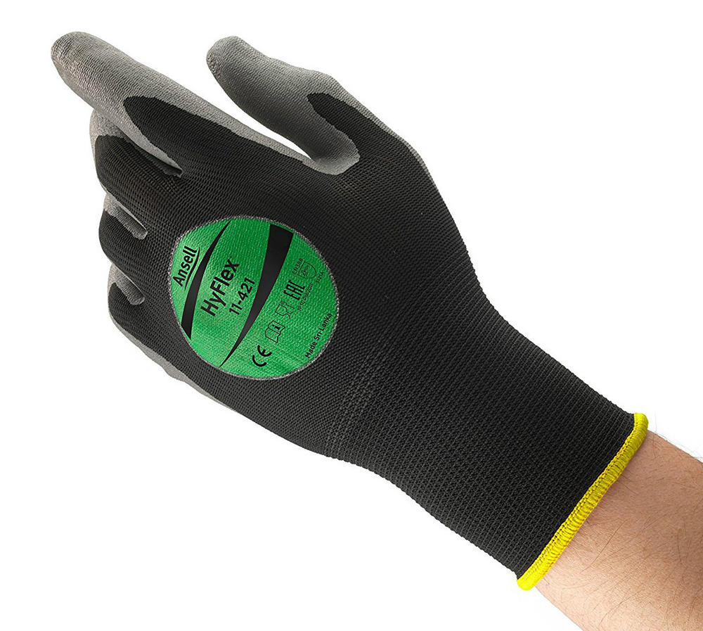 Ansell HyFlex 11-421 Mechanical Protection Multi-purpose Gloves