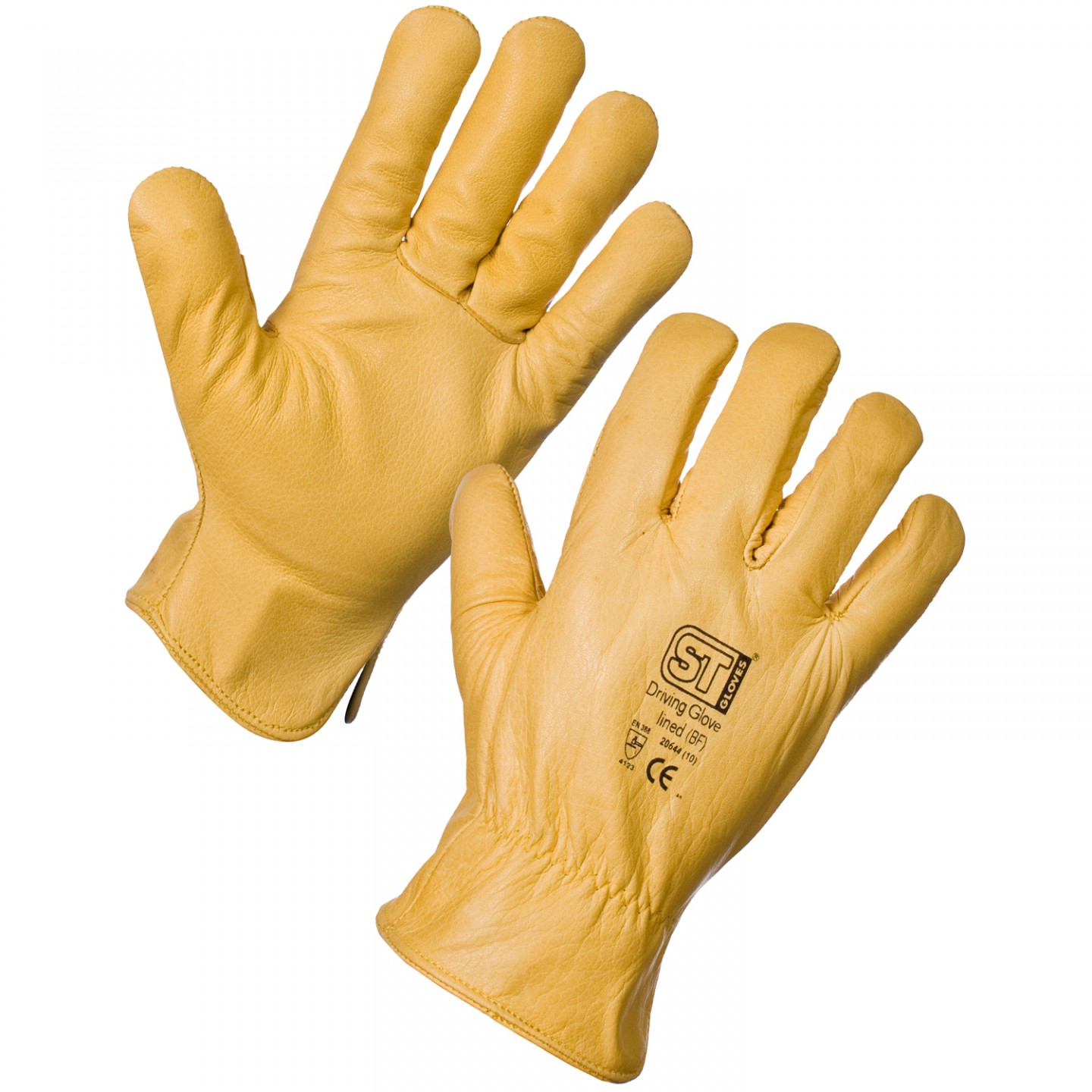 Supertouch St 20642 Lined Leather Driver Gloves