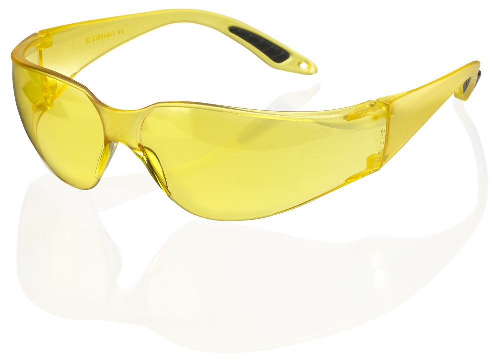 Beeswift B Brand Vegas Safety Glasses Yellow BBVSS2Y