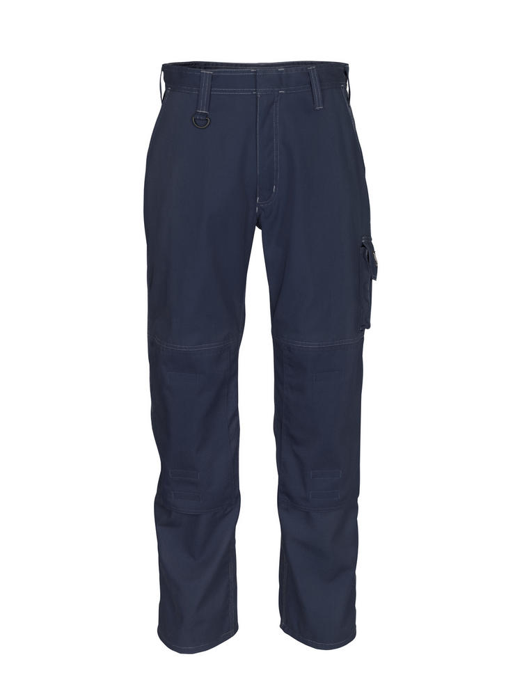 Mascot Pittsburgh Cargo Trousers with Adjustable Kneepad Pockets Navy