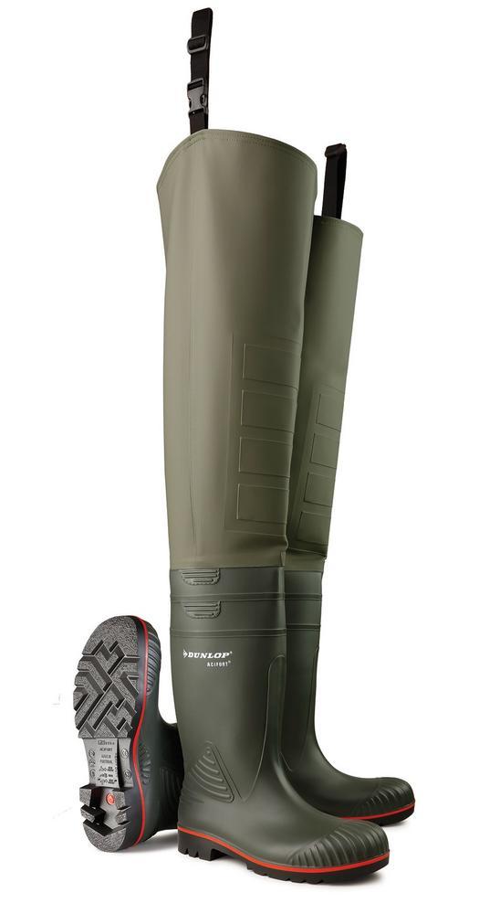 Dunlop Acifort A442631.TW Heavy Duty Men Safety Thigh Wader