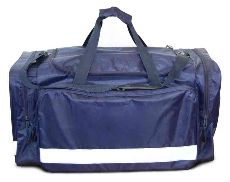 So Safe SS6200 Water Resistant Hi Vis Reflective PVC Coating Navy Holdall