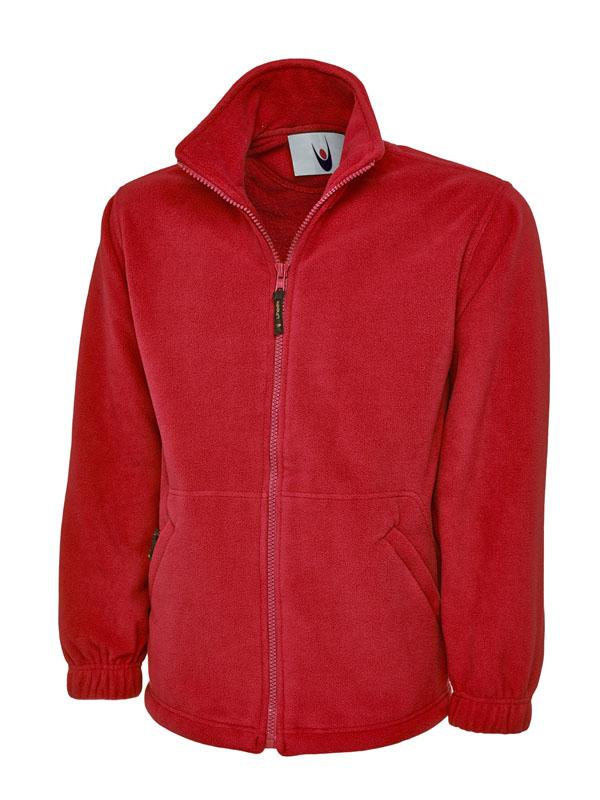 Uneek UC604 Unisex Classic Micro Fleece Jacket Front Zip Work Casual Uniforms