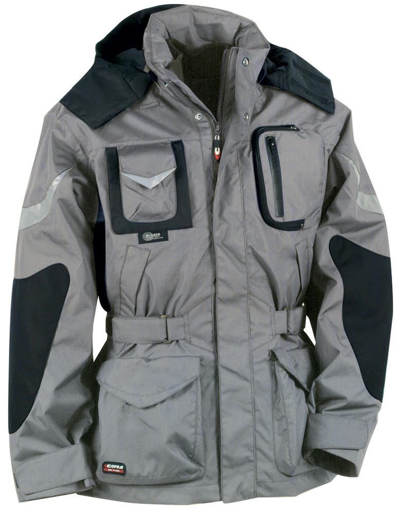 Cofra Icestorm 4 in 1 3M Reflective Waterproof Insulated Parka Winter Jacket