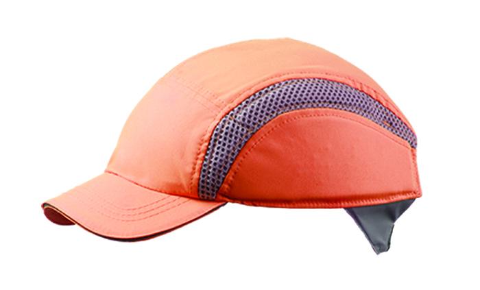 Centurion AirPro S38HVO Standard Peak Orange Baseball Style Bump Cap