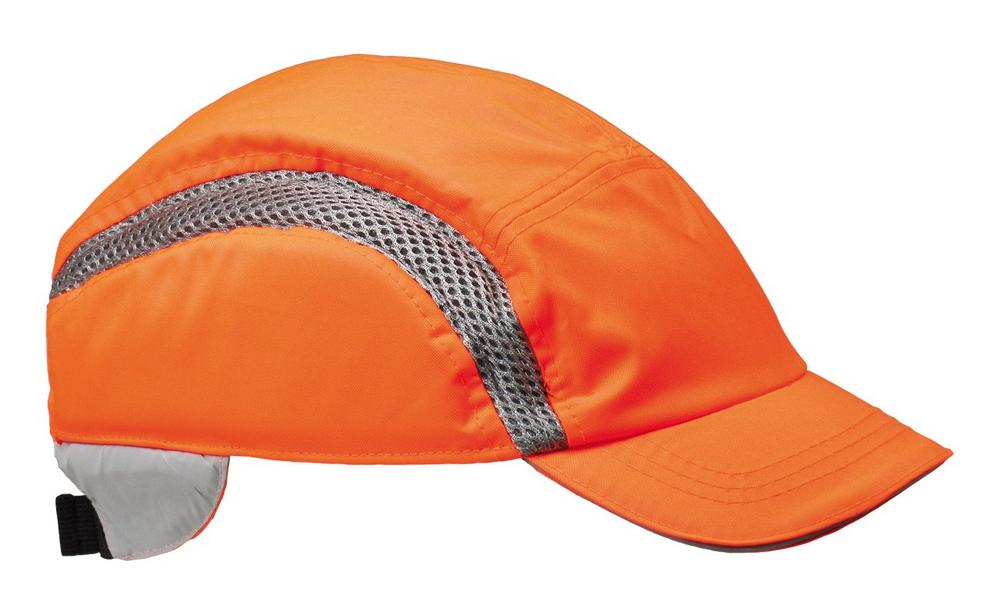 Centurion AirPro S38HVO Standard Peak Orange Baseball Style Bump Cap
