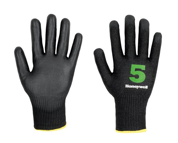 Honeywell Vertigo C&G-5 Polyurethane Coating Cut Resistant Level-5 Glove, Size 9