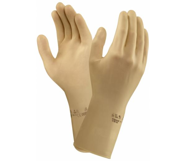 Ansell G31H Featherweight Plus Gauntlets Natural Rubber Latex Hand Protection