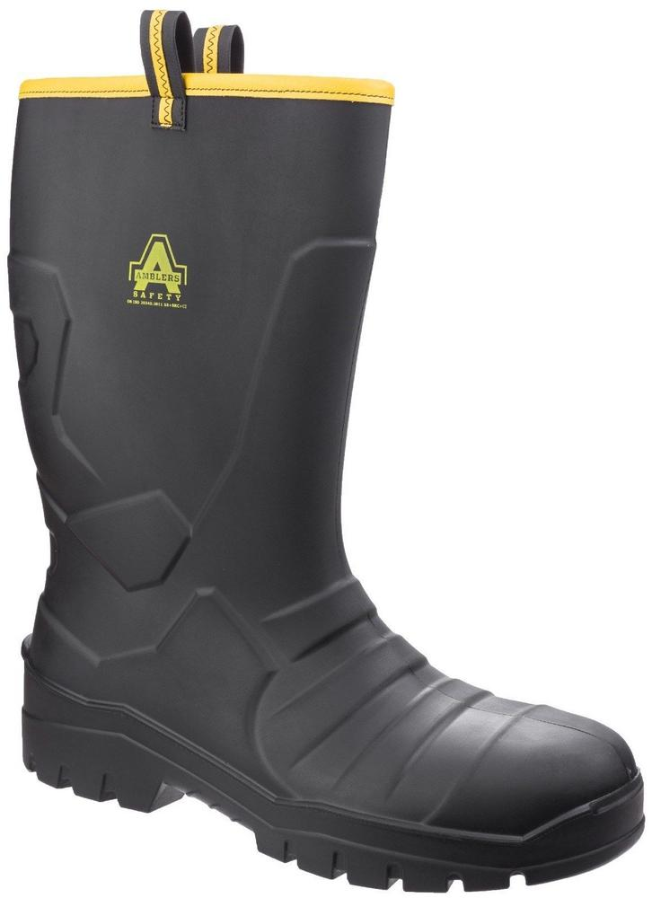 Amblers AS1008 Unisex Polyurethane Safety Rigger Boots Cold Insulated