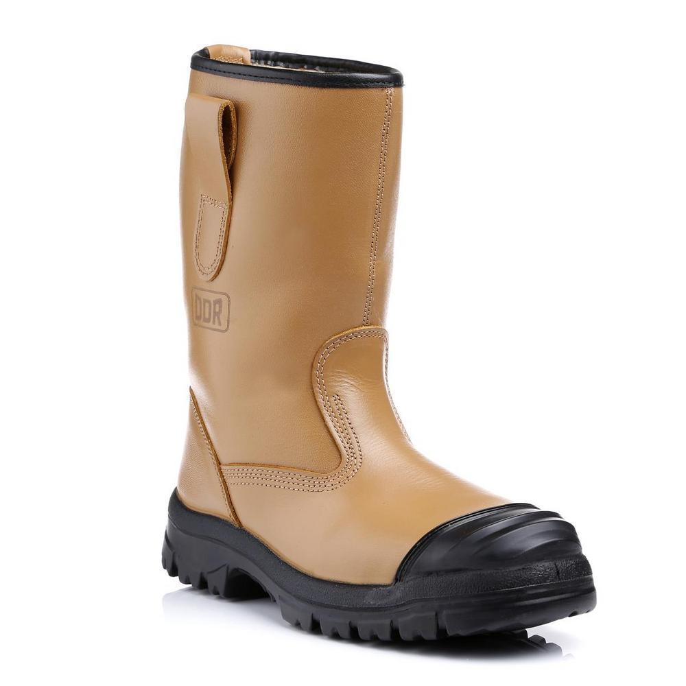Goliath SDR304CSI Steel Toe Antistatic Tan Rigger Boot - Size 12UK
