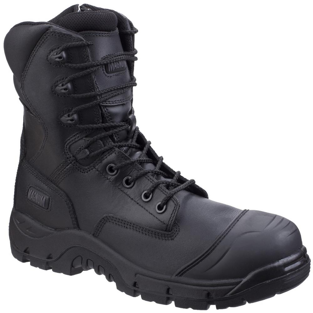 Magnum M801365 Rigmaster Metal Free Side Zip Waterproof S3 HRO WR SRC Safety Boots
