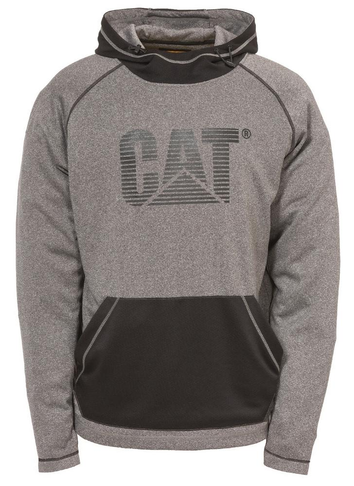 CAT Apparel C1910054 Endurance Casual Grey Hoodie Fleece Sweatshirt