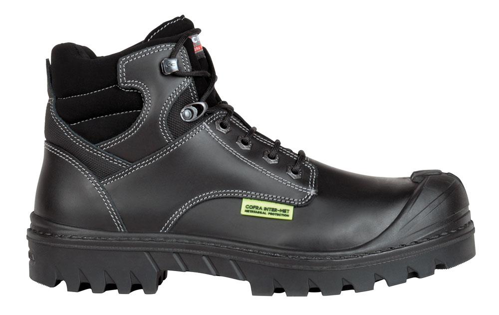 Cofra DARWEN UK INTER-MET S3 HI CI HRO SRC Safety Boots - Size 8UK