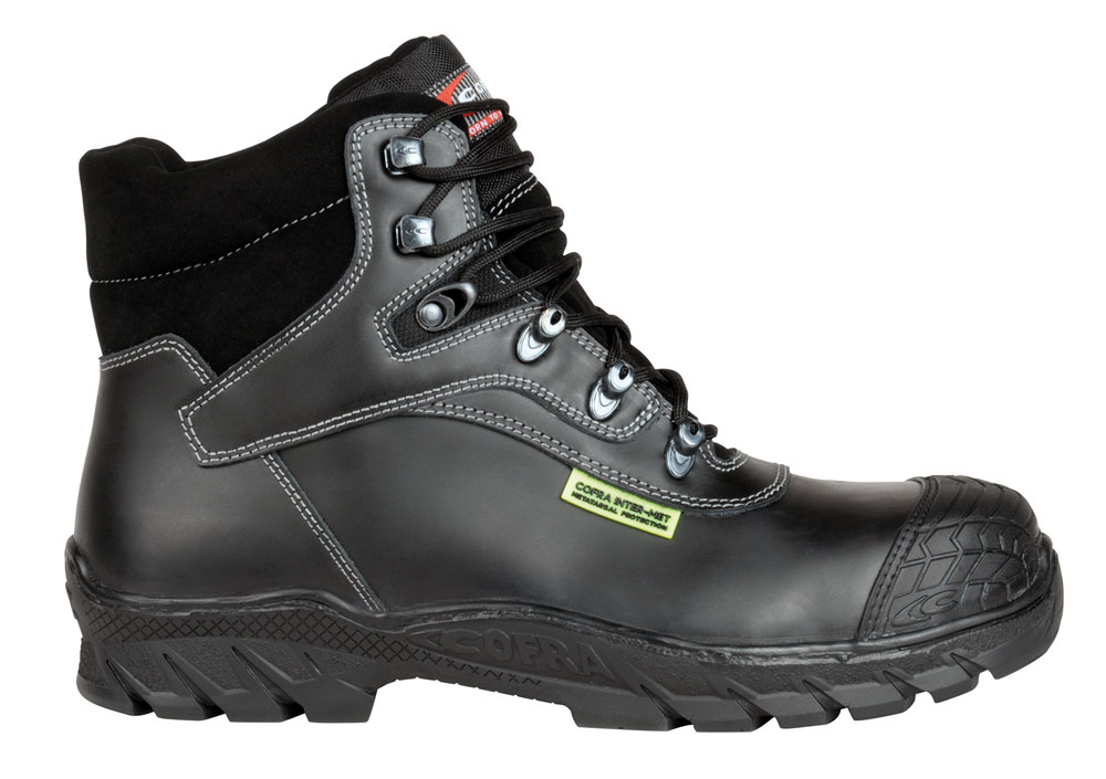 Cofra FRIBURG INTER-MET S3 M HI CI HRO SRC Safety Boots - Size 8UK