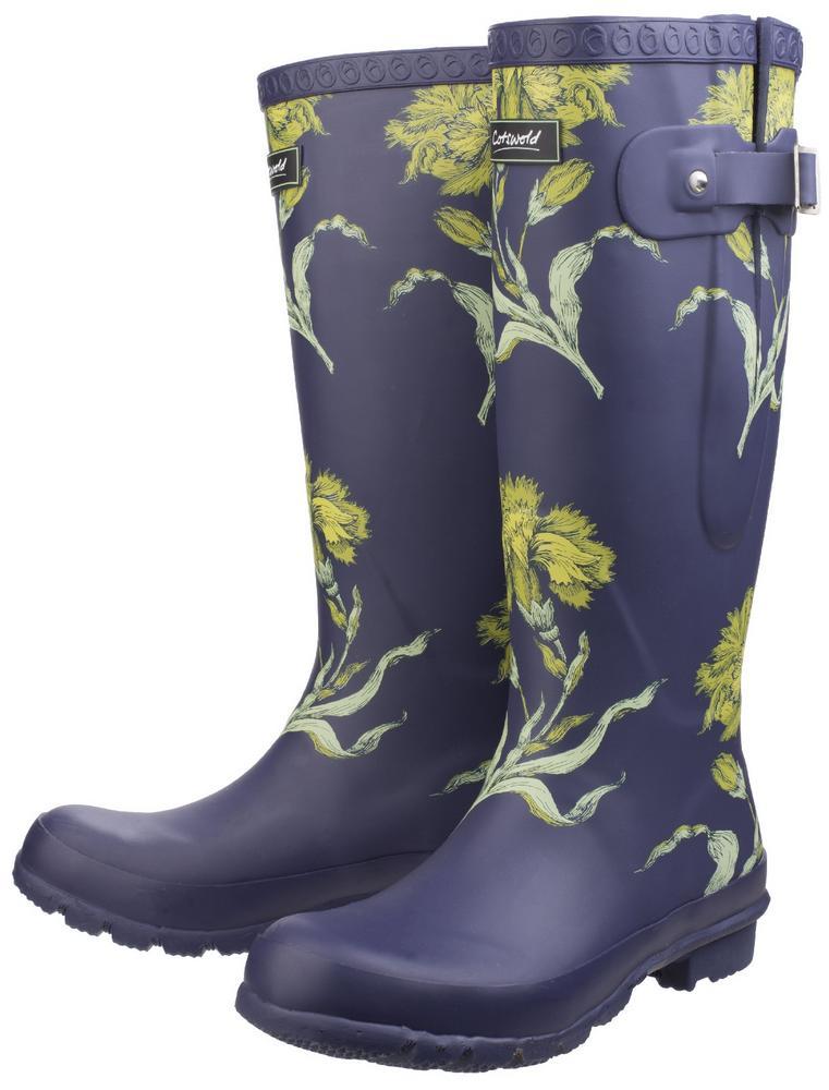 Cotswold Windsor Ladies Floral Wellington Boots