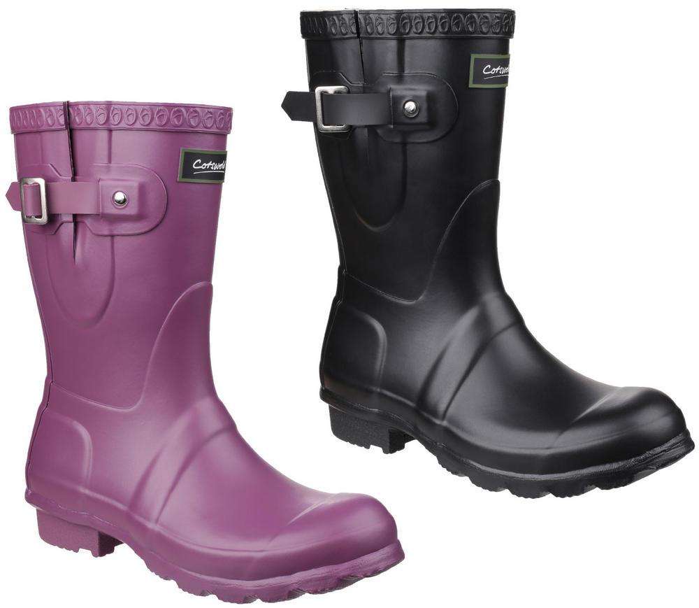 Cotswold Windsor Short Ladies Half Leg PVC Wellington Boots