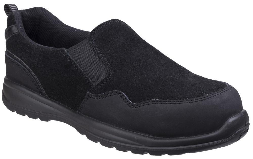 Amblers AS603C Ladies Metal Free S1-P Safety Slip-On Shoes