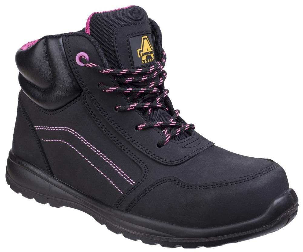 Amblers AS601C Lydia Ladies Metal Free S1-P SRC Safety Boots