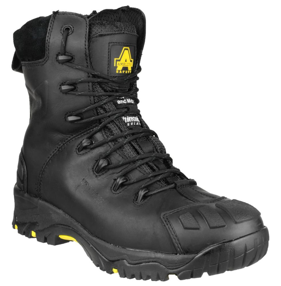 Amblers FS999 Waterproof Side Zip Composite Toe Cap S3 Safety Combat Work Boots