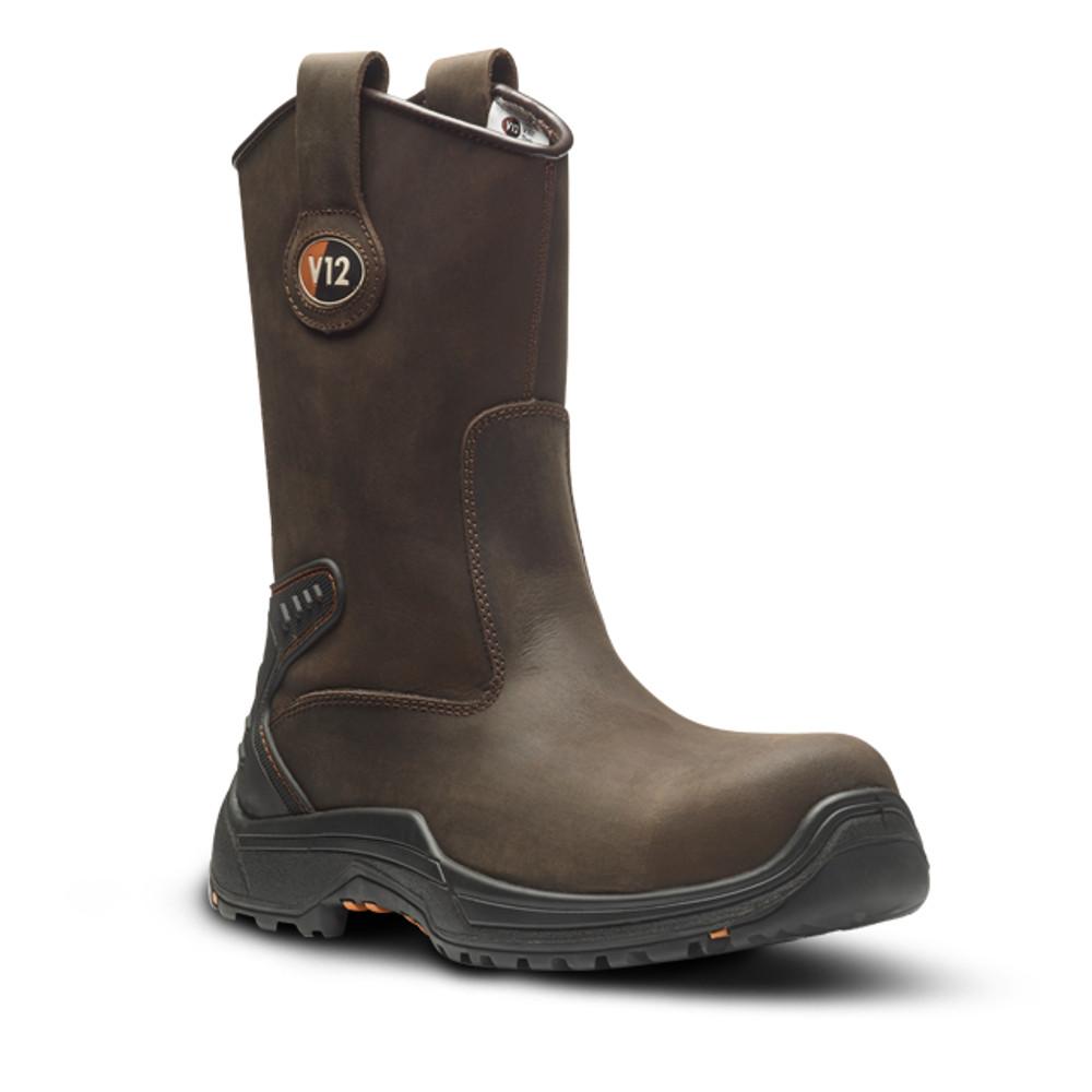 V12 Tigris IGS V1607 Metal Free Composite S3 HRO SRC Safety Rigger Boots