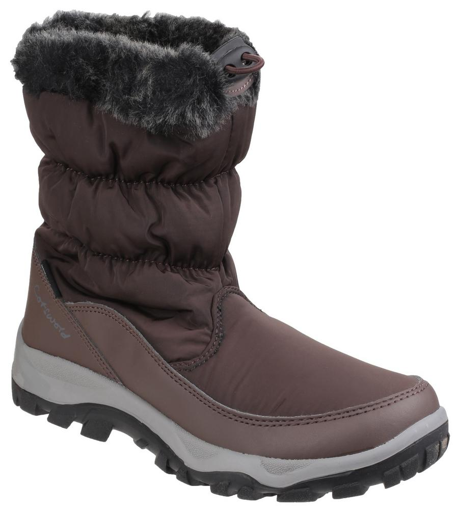 Cotswold Frost Ladies Waterproof Cold Insulated Snow Boots