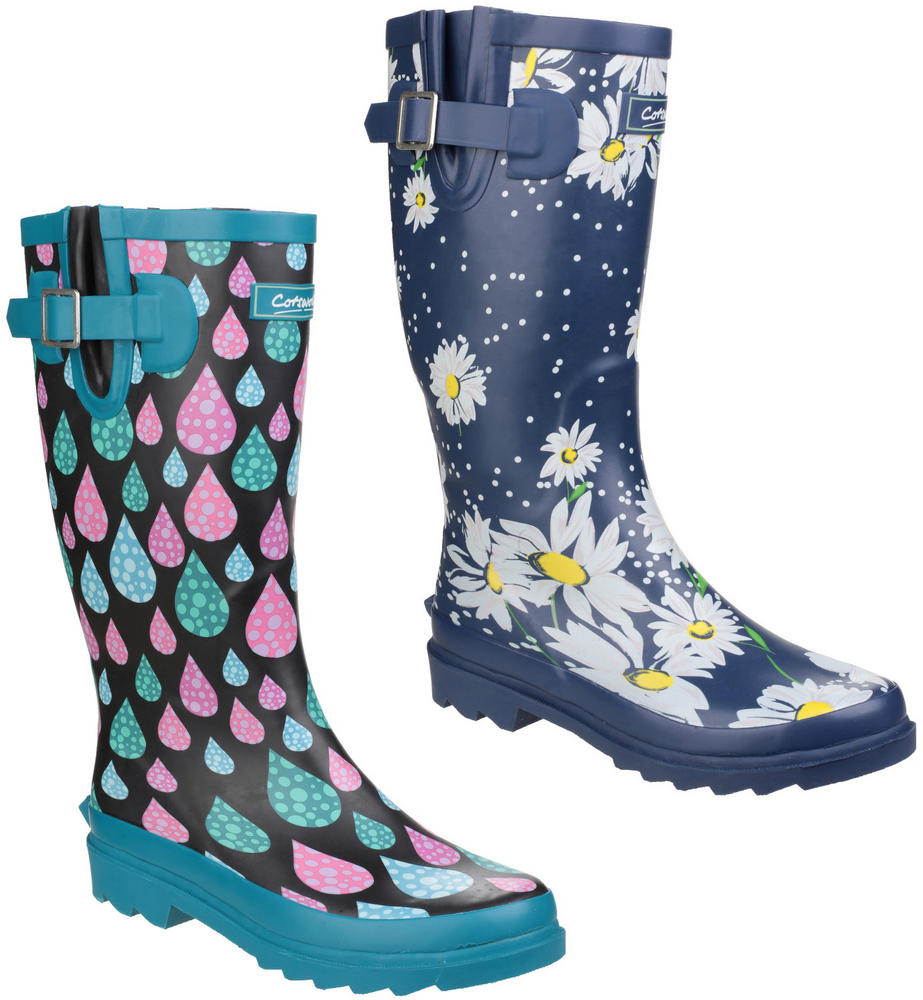 Cotswold Burghley Ladies Outdoor Rain Wellington Boots