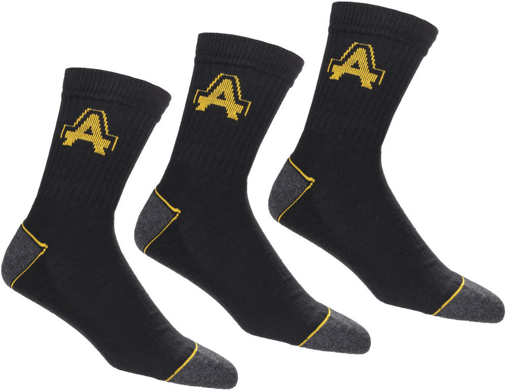 Amblers Polycotton Heavy Duty Work Socks - 3 Pairs Pack