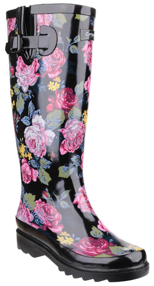 Cotswold Rosefest Ladies Gardening Outdoor Wellington Boots