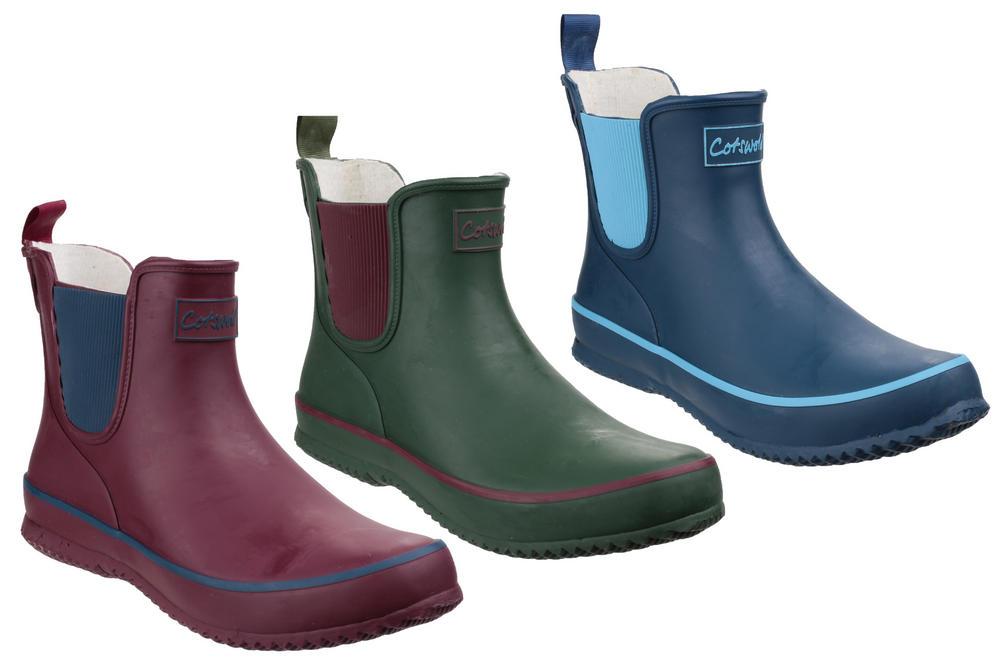 Cotswold Bushy Ladies Ankle Wellington Boots