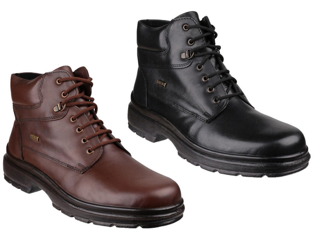 Cotswold Swell Lace Up & Side Zip Waterproof Boots