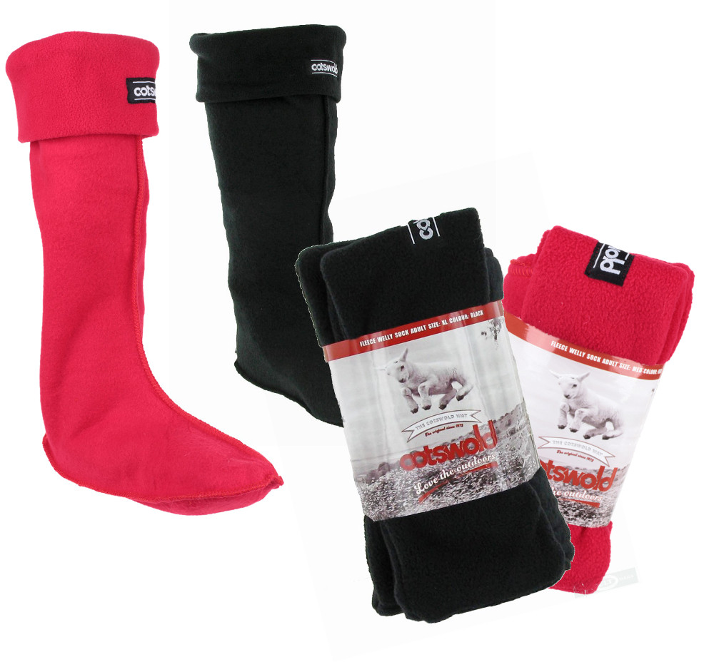 Cotswold Adult Fleece Socks For Wellingtons Boots