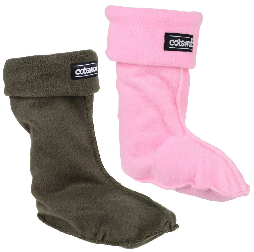 Cotswold Children Fleece Socks For Wellingtons Boots