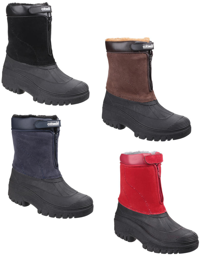 Cotswold Venture Ladies Waterproof Warm Lined Snow Boots