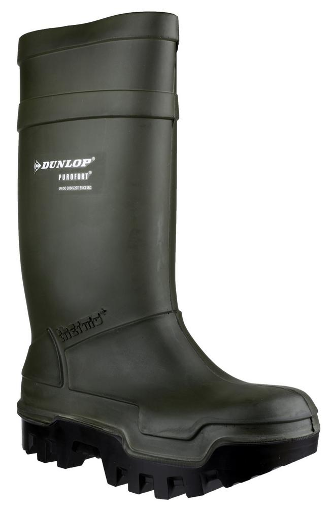 Dunlop C662933 Purofort Thermo+ Men Safety Wellington Boots