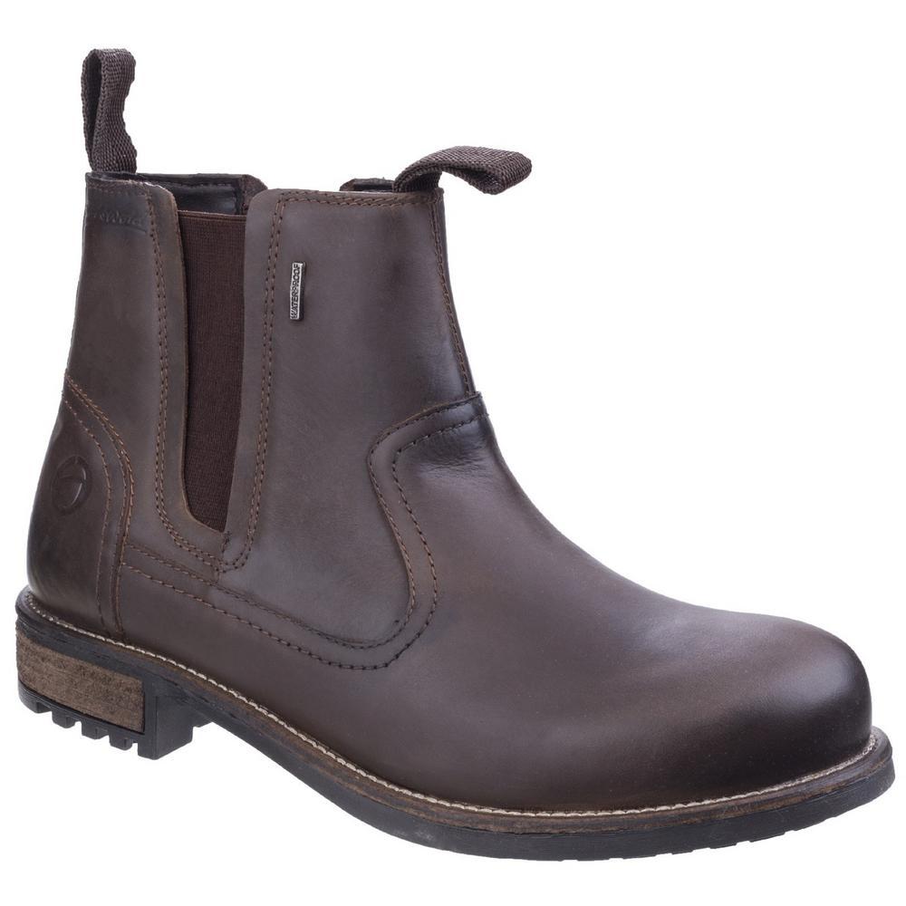 Cotswold Worcester Waterproof Nubuck Chelsea Dealer Boots
