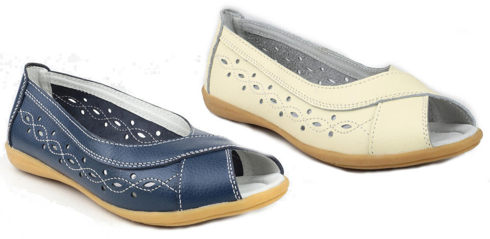 Amblers Rococo Ladies Casual Flats Summer Shoes
