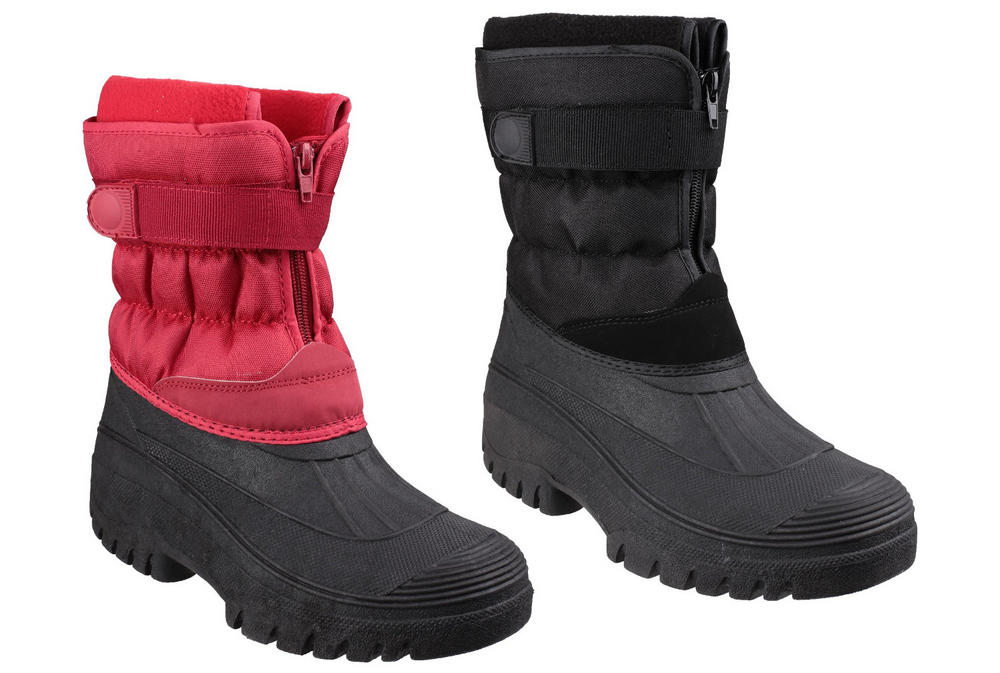 Cotswold Chase Waterproof Snow Footwear Winter Boots