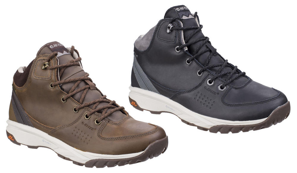 Hi-Tec Wildlife Waterproof Leather Upper Trail Hiking Boots