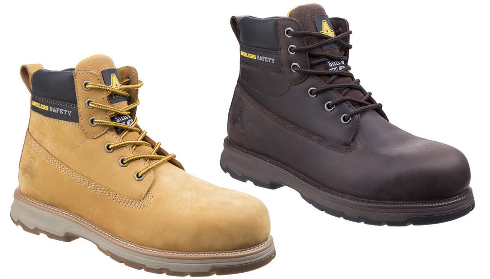 Amblers AS170 Wentwood Steel Toe Cap S1P Lace Up Safety Boots