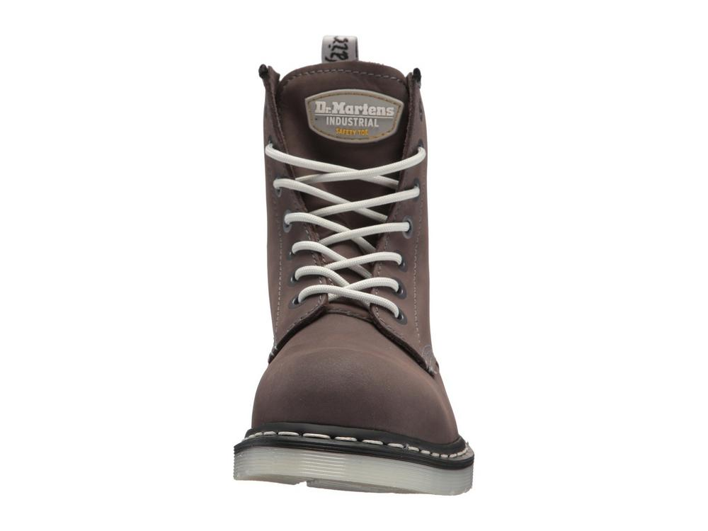 22bdbd58bfd Dr Martens Maple Mid Cut Ladies Steel Toe Cap SB SRA Safety Boots