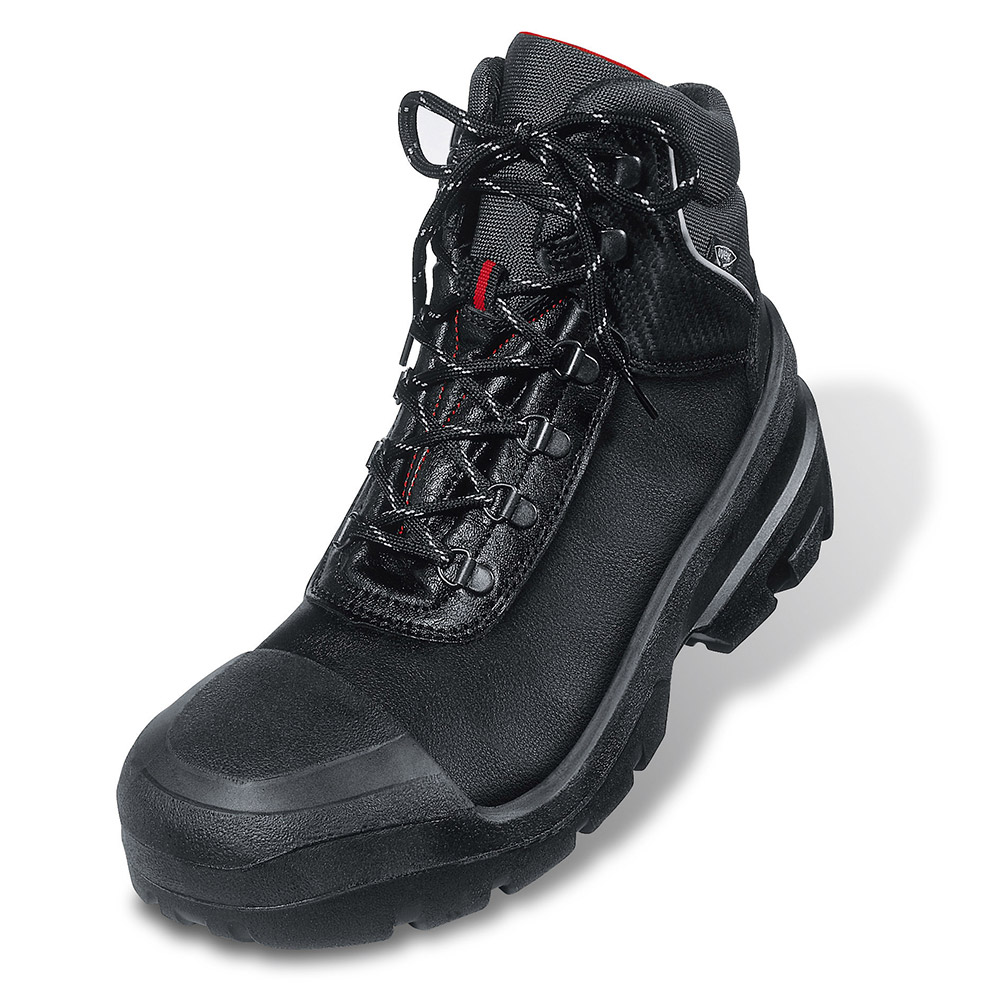 Uvex 8401.2 Quatro Black S3 Safety Boots