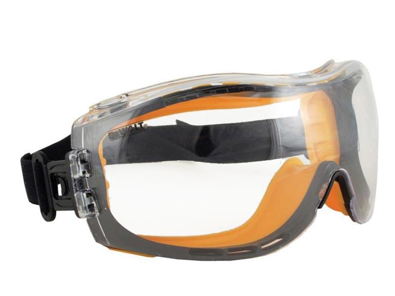 feef7d7df0b DeWALT Concealer Clear Anti-Fog Dual Mold Safety Goggle