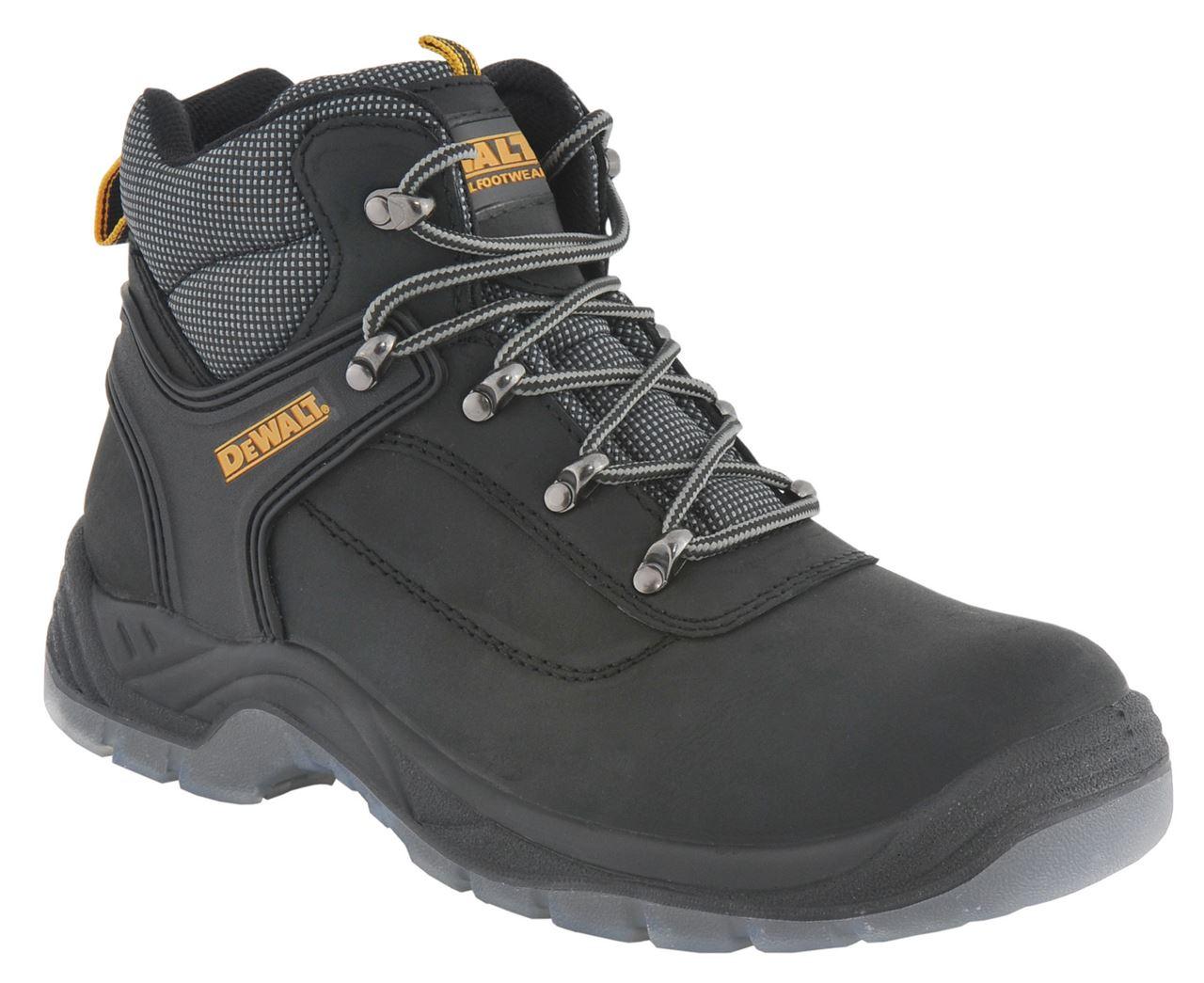 26bea26dcfc DeWALT Laser Safety S1-P Steel Toe-Cap Hiker Boot - Black