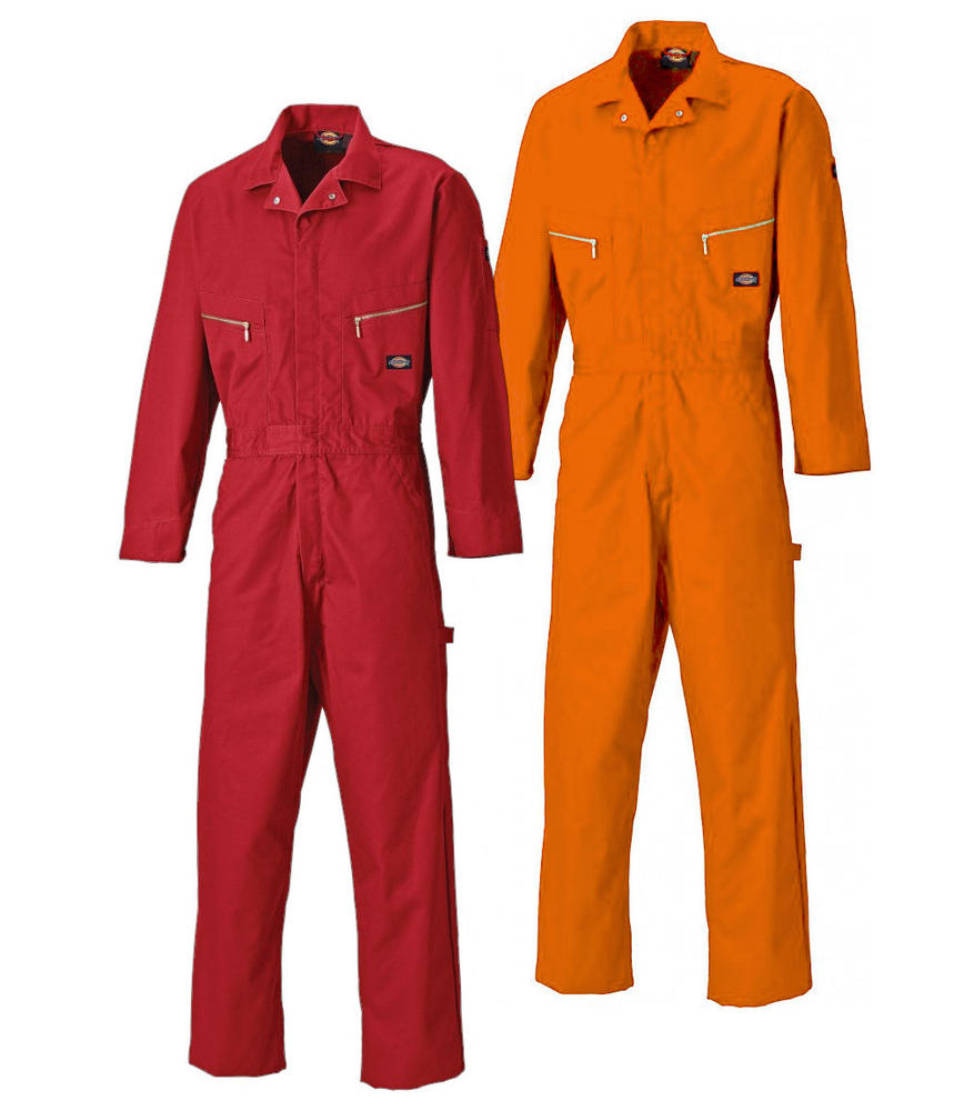 Dickies WD4879 Deluxe Coverall Polycotton 280gms With Teflon Protective Coating