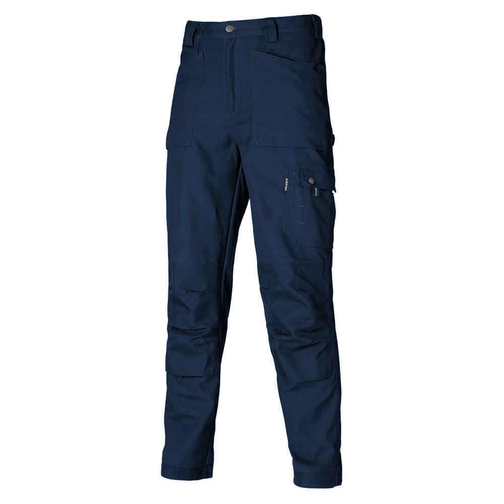 Dickies EH26800 Eisenhower Work Cargo Trousers With Knee Pad Pockets Navy