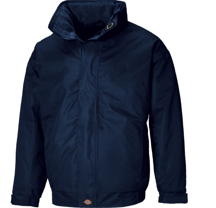 Dickies JW23700 Cambridge Waterproof Coating & Fleece Lining Work Jacket  Navy Size Large