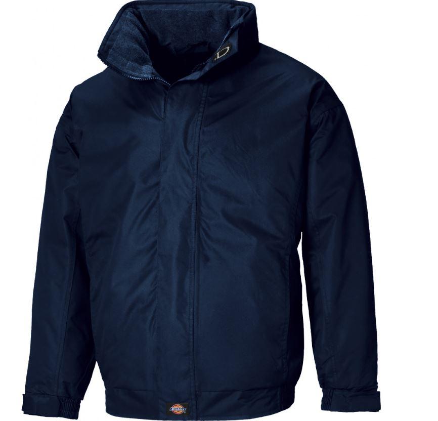 Dickies JW23700 Cambridge Waterproof Coating & Fleece Lining Work Jacket - Navy