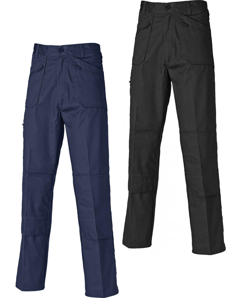 Dickies Redhawk Men's Knee Pad Pockets Action Trousers WD814 - Various Colours