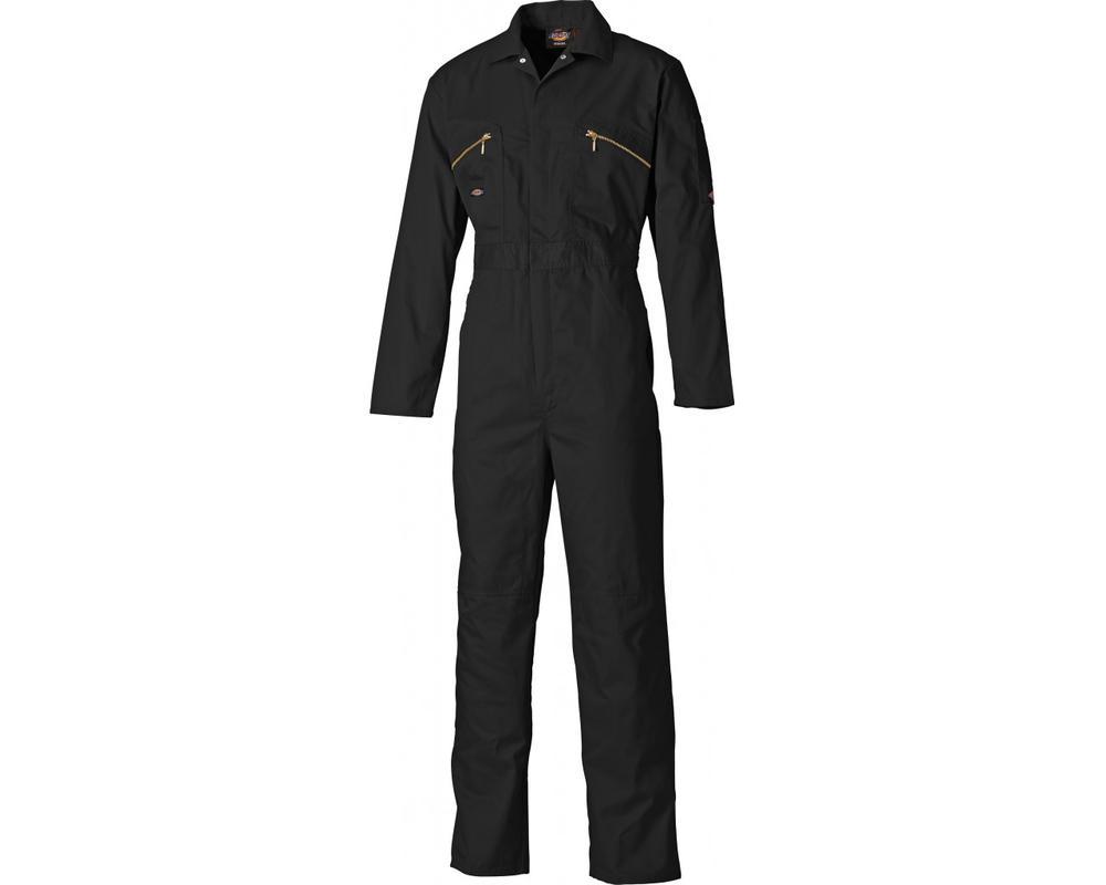 Dickies WD4839 Redhawk Men Work Overall Knee Pad Pockets Black